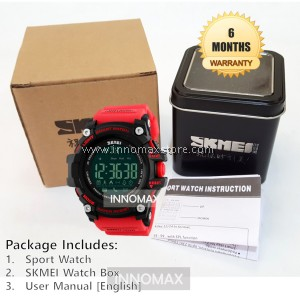 SKMEI Sports Watch 1227 - Bluetooth Pedometer Stop Watch Water Resistant 50m