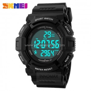 SKMEI Sports Watch 1116 - Pedometer Stop Watch Water Resistant 50m
