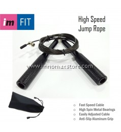IMFIT Exercise High Speed Skipping Jump Rope Aluminum Handle