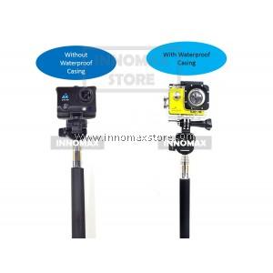 Action Sports Camera Monopod Selfie Stick