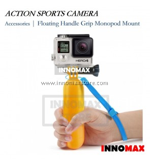 Action Sports Camera Monopod Floating Grip