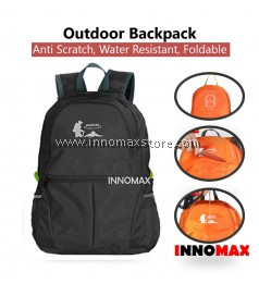 Outdoor Backpack 25L Anti Scratch Water Resistant Foldable