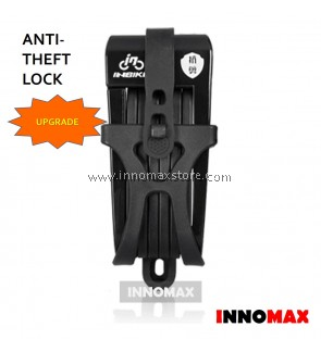 Bicycle Lock Upgrade Foldable Lock Anti-Theft Alloy Lock