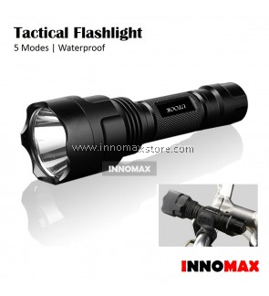 Tactical Flashlight 5 Modes Water Proof Outdoor Cycling