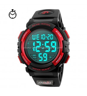 SKMEI Sports Watch 1258 - Stop Watch Water Resistant 50m