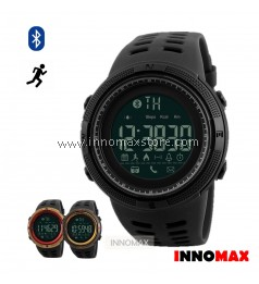 SKMEI Sports Watch 1250 - Bluetooth Pedometer Stop Watch Water Resistant 50m