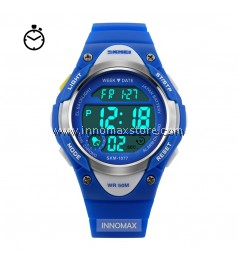 SKMEI Kids Sports Watch 1077 - Children Stop Watch Water Resistant 50m