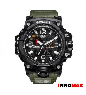 SMAEL Sport Watch 1545 Digital Analog Display Water Resistant 50m