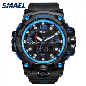 SMAEL Sport Watch 1545 Digital Analog Display Water Resistant 50m