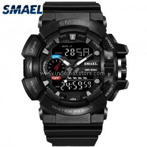 SMAEL Sport Watch 1436 Digital Analog Display Water Resistant 50m