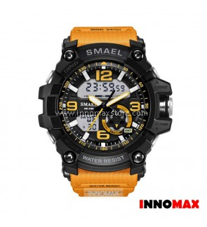 SMAEL Sport Watch 1617 Digital Analog Display Water Resistant 50m