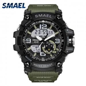 SMAEL Sport Watch 1617 Digital Analog Display Water Resistant 50m