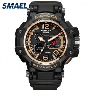SMAEL Sport Watch 1509 Digital Analog Display Water Resistant 50m