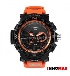 SMAEL Sport Watch 1531 Digital Analog Display Water Resistant 50m