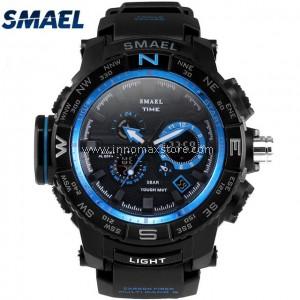 SMAEL Sport Watch 1531 Digital Analog Display Water Resistant 50m