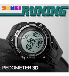 SKMEI Sports Watch 1141 - Pedometer Stop Watch Water Resistant 50m
