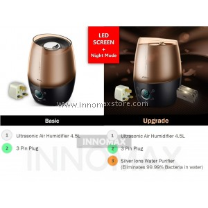 Deerma Smart Touch Air Humidifier LU200 4.5L Sleep mode