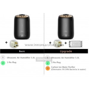 Deerma Smart Touch Air Humidifier F600 Black Pearl 5.0L