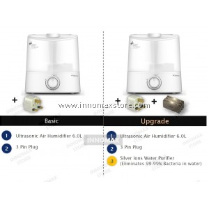 Deerma Air Humidifier F625 White 6.0 Liter Aroma Diffuser Air Purifier