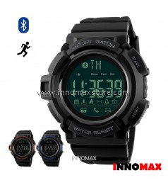 SKMEI Sports Watch 1245 - Bluetooth Pedometer Stop Watch Water Resistant 50m