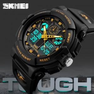 SKMEI Quartz LED Digital Sports Watch 1270 - Water Resistance