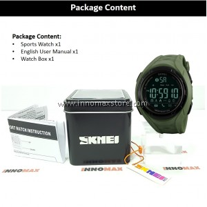 SKMEI Sports Watch 1316 - Bluetooth Pedometer Stop Watch Water Resistant 50m
