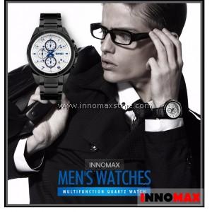 SKMEI Men Quartz Watch 9109 - Men Fashion Full Steel 5ATM