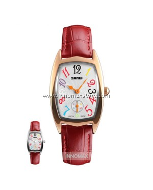 SKMEI Women Elegant Watch 1323 - Ladies Fashion Leather Strap
