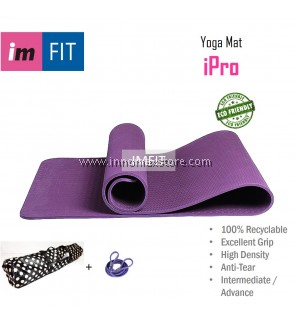 Imfit Yoga Mat iPro 6mm - Eco Friendly Anti Tear - Excellent Grip Odorless