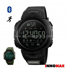 SKMEI Sports Watch 1301 - Bluetooth Pedometer Stop Watch Water Resistant 50m