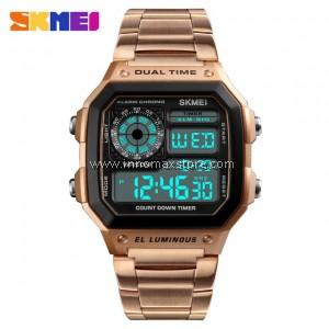 SKMEI Digital Watch 1335 - Classic Design - Chronograph 50m Water Resistance