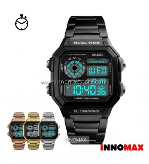 SKMEI Digital Watch 1335 - Classic Design - Chronograph 50m Water Resistance