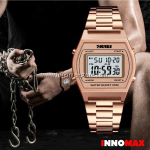 SKMEI Digital Watch 1328 - Classic Design - Chronograph 50m Water Resistance