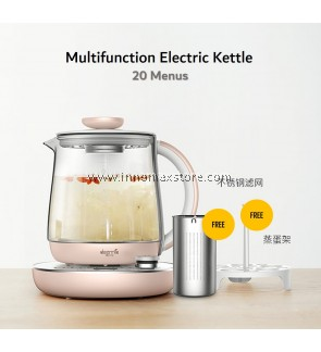 Deerma Multifunction Electric Kettle 20 Menu Kitchen Helper YS201