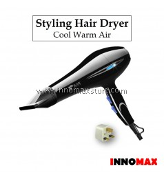 Styling Hair Dryer 2200W Low Noise Professional Salon Style 8020