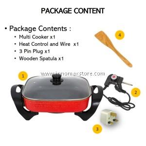 Electric Modern Multi Cooker 5 Liter 1700W 5 Heat Level Korea BBQ