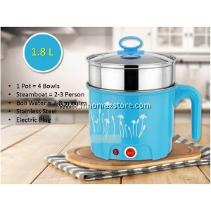 Electric Modern Multi Cooker 1.8L Steam Boil Combination