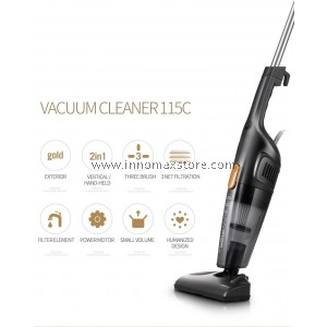 Deerma Portable Handheld Vacuum Cleaner DX115c Strong Suction Low Noise