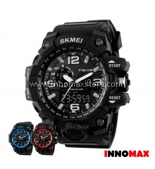 SKMEI Men Sport Watch Analog Digital 1155 50m Water Resistant