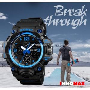 SKMEI Men Sport Watch Analog Digital 1155b 50m Water Resistant