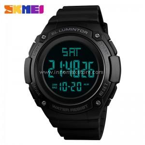SKMEI Men Sport Watch 1346 - Dual Time Stopwatch Water Resistant