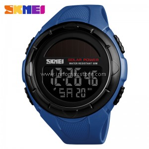 SKMEI Men Sport Watch Solar Power 1405 - Chronograph Water Resistant