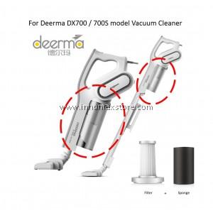 Deerma Vacuum DX700 / DX700s Filter and Sponge