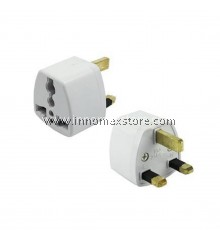 Universal Conversion Plug Adapter 3 Pin British Standard