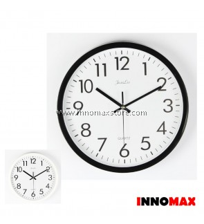 Modern Wall Clock Quartz 10 inch Quiet