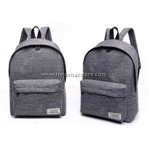 Korean Fashion Canvas Bag Backpack 20L Safety Pouch