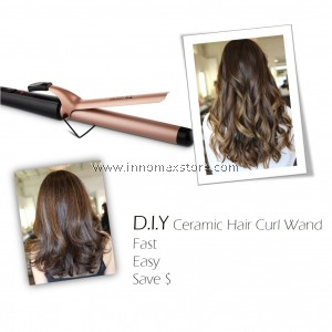Ceramic Hair Curling Styling Wand Fast Heat