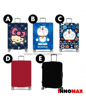 Travelers Luggage Bag Cover Protector Elastic Cartoon Cover