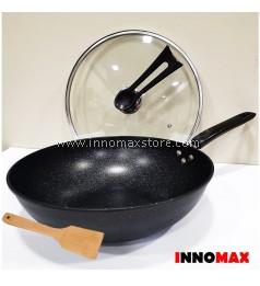 Non Stick Frying Cooking Wok Pan Maifan Coating