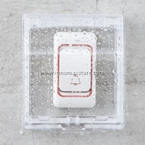 Rain Protector Casing for Door Bell and Socket
